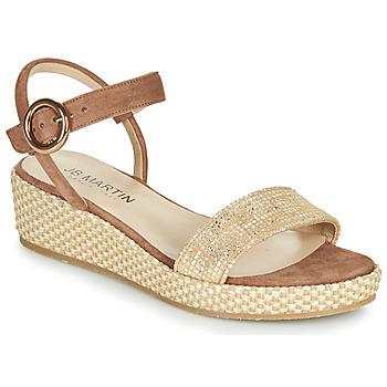 Chaussures Femme Sandales et Nu-pieds JB Martin 1JADENA Marron