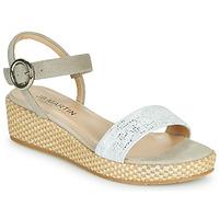 Chaussures Femme Sandales et Nu-pieds JB Martin 1JADENA Blanc