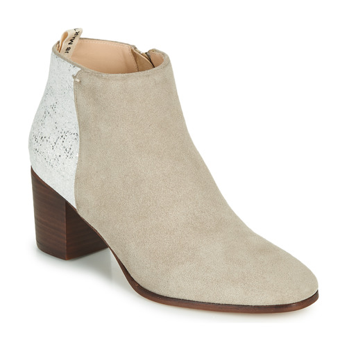 Chaussures Femme Bottines JB Martin 1LILOSI Blanc
