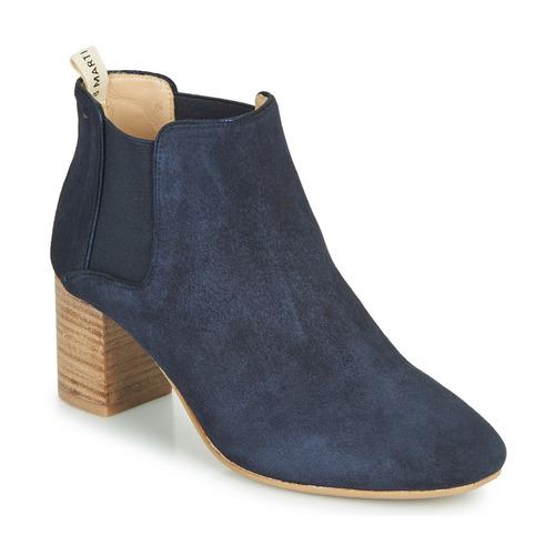 Chaussures Femme Bottines JB Martin 3ALIXIA Marine
