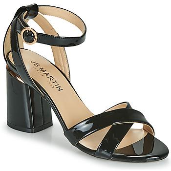 Chaussures Femme Sandales et Nu-pieds JB Martin KIMOE Noir