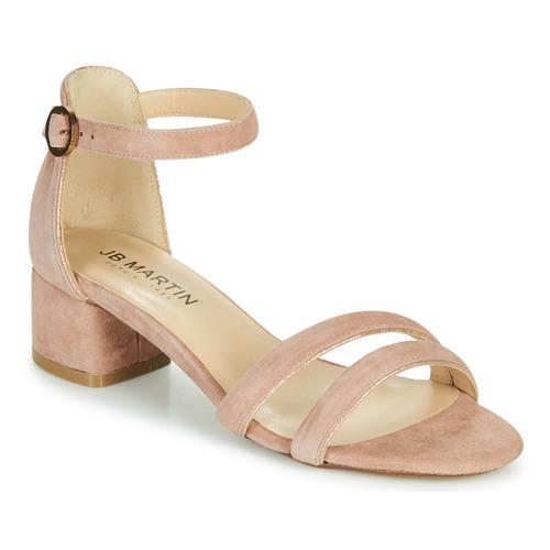 Chaussures Femme Sandales et Nu-pieds JB Martin MACABO Marron