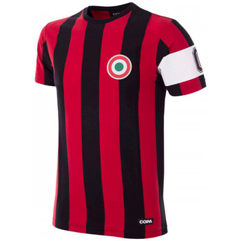 Vêtements T-shirts manches courtes Copa Milan Capitano T-Shirt Black;Red
