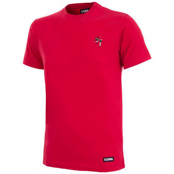 Vêtements T-shirts manches courtes Copa Kung Fu embroidery T-Shirt Red