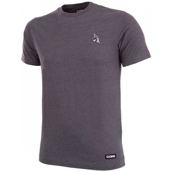 Vêtements T-shirts manches courtes Copa Hand of God embroidery T-Shirt Grey