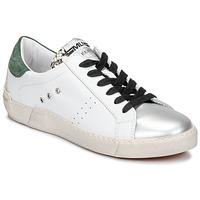 Chaussures Femme Baskets basses Meline NKC1392 Blanc / Vert