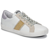 Chaussures Femme Baskets basses Meline KUC1414 Blanc / Doré
