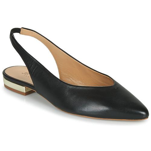Chaussures Femme Ballerines / babies JB Martin VELANI Noir