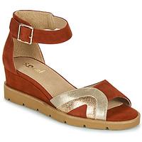 Chaussures Femme Sandales et Nu-pieds Sweet ETUVESS Bordeaux / Doré