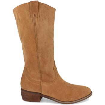 Chaussures Femme Bottes ville Buonarotti 1S-0513 Camel