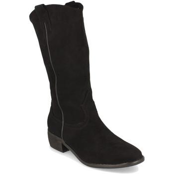 Chaussures Femme Bottes ville Buonarotti 1S-0513 Negro