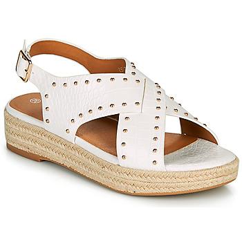 Chaussures Femme Sandales et Nu-pieds The Divine Factory LS1802J Blanc