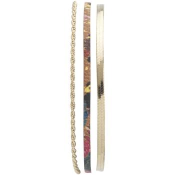 Montres & Bijoux Femme Bracelets Flowersforzoé Bracelet Demy Billy jane FD T1 Jaune