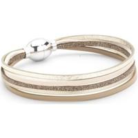 Montres & Bijoux Femme Bracelets Flowersforzoé Bracelet Artiste Ashley FA T1 Blanc