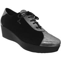 Chaussures Femme Derbies Brenda Zaro FZ1096 Noir/Argent