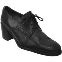 Chaussures Femme Derbies Folies NERETA Noir cuir