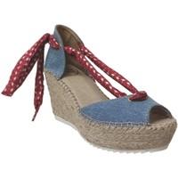 Chaussures Femme Sandales et Nu-pieds Toni Pons LARISA-J Bleu/Rouge toile