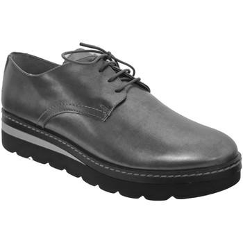 Chaussures Femme Derbies Folies Walk Argent cuir