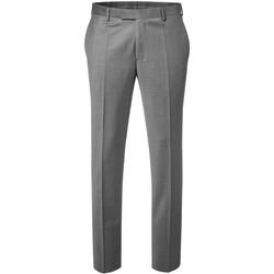 Vêtements Homme Pantalons de costume Kebello Pantalon en polyester Taille : H Gris 38 Gris
