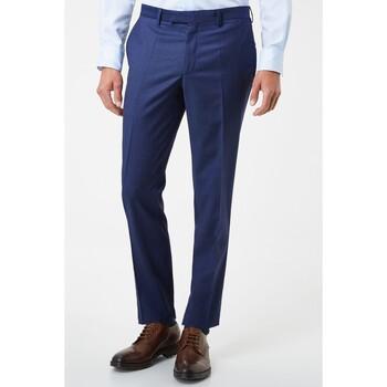 Vêtements Homme Pantalons de costume Kebello Pantalon en polyester Taille : H Bleu 38 Bleu