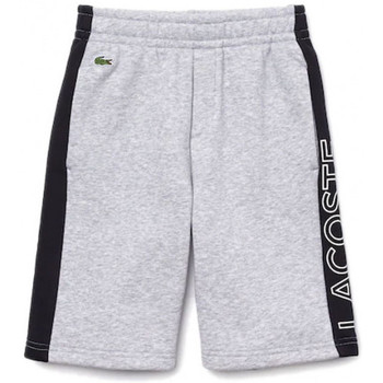 Vêtements Enfant Shorts / Bermudas Lacoste Short Gris