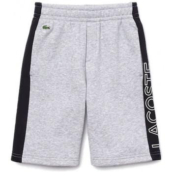 Vêtements Enfant Shorts / Bermudas Lacoste Short $SKU Gris