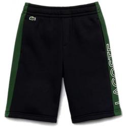 Vêtements Enfant Shorts / Bermudas Lacoste Short $SKU Bleu