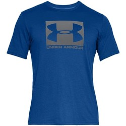 Vêtements Homme T-shirts manches courtes Under Armour Boxed Sportstyle Bleu
