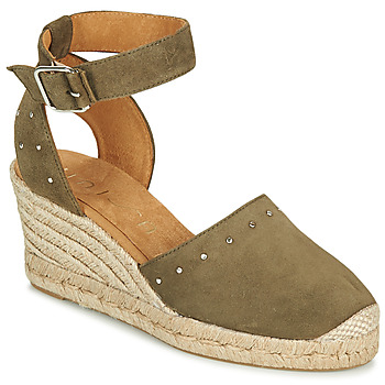 Chaussures Femme Le chino, un must have Unisa CLIVERS Kaki