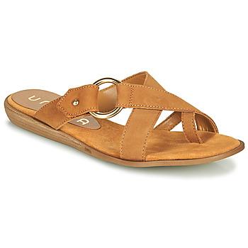 Chaussures Femme Tongs Unisa ADRIEL Camel