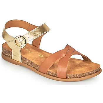 Chaussures Femme Sandales et Nu-pieds Unisa CINCEL Camel