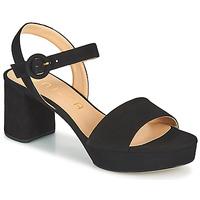 Chaussures Femme Sandales et Nu-pieds Unisa NENES Noir