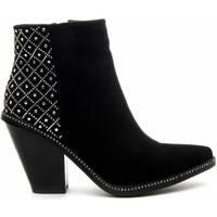 Chaussures Femme Bottines Azarey 68728 BLACK