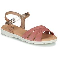 Chaussures Fille Sandales et Nu-pieds Citrouille et Compagnie OBILOU Rose