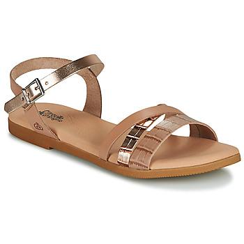 Chaussures Fille Sandales et Nu-pieds Citrouille et Compagnie OBINOU Tan doré