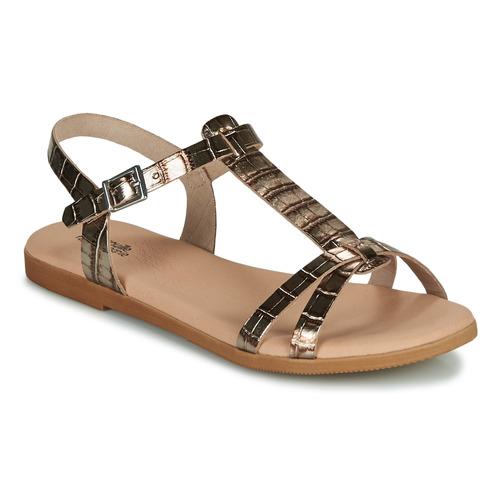 Chaussures Fille Sandales et Nu-pieds Citrouille et Compagnie OBIS Marron