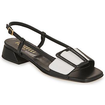 Chaussures Femme Sandales et Nu-pieds Fericelli PANILA Noir / blanc