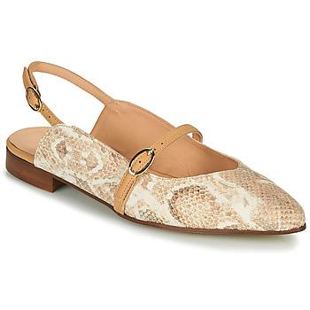 Chaussures Femme Ballerines / babies Fericelli SUSANNA Blanc