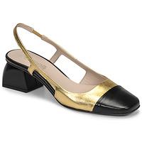 Chaussures Femme Escarpins Fericelli TOUBET Doré/ noir