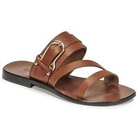 Chaussures Femme Sandales et Nu-pieds Fericelli STAMP Camel