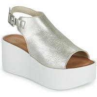 Chaussures Femme Sandales et Nu-pieds Sweet Lemon PYTON Argenté