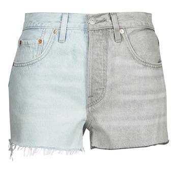 Vêtements Femme Shorts / Bermudas Levi's ICE BLOCK Bleu / gris