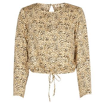 Vêtements Femme Chemises / Chemisiers Levi's AMMOLITE SHIFTING SAND Beige