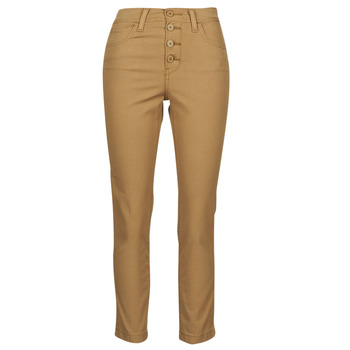 Vêtements Femme Pantalons 5 poches Levi's SOFT CANVAS TOASTED COCONUT OD Beige