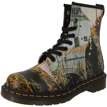 Chaussures Femme Bottines Dr Martens 1460 Noir