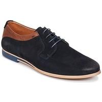 Chaussures Derbies Kost Epieu Bleu et cognac