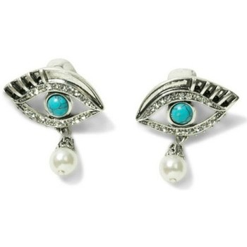 Montres & Bijoux Femme Boucles d'oreilles Desigual Boucles d'oreilles Yatziri Turquesa 18SAGO81 Bleu