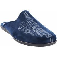 Chaussures Homme Chaussons Neles Go Home Gentleman  N55-4724B Bleu Bleu