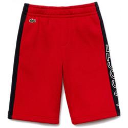 Vêtements Enfant Shorts / Bermudas Lacoste Short $SKU Rouge