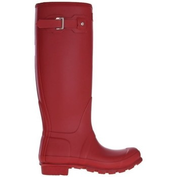 Chaussures Femme Bottes de pluie Hunter Womens Org Tall Rouge